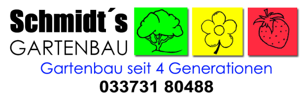 Schmidt's Gartenbau Trebbin GmbH